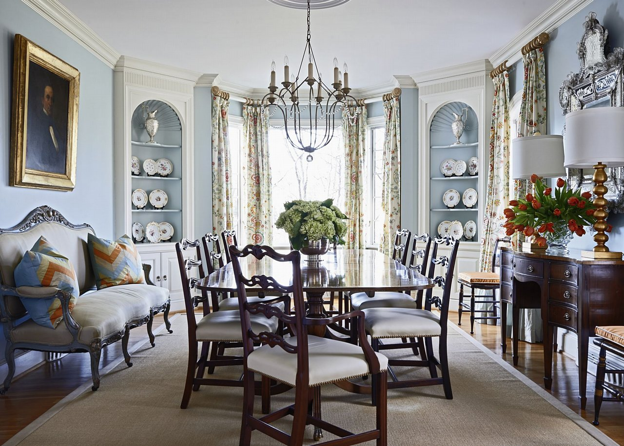 Southern grace home design decor for Southern dining room