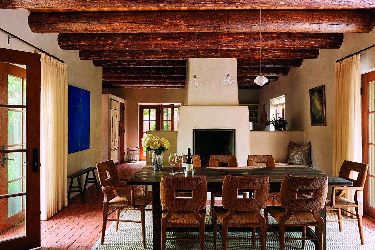 Santa fe style interior design - Previous